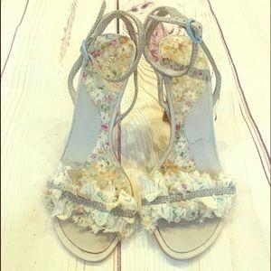 Kenzie fabric heels